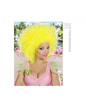 WIDMANN 6391Y parrucche fatina giallo fluorescente