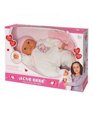 GIOCHERIA RDF50387 love bebe bambola 46cm dolci coccole