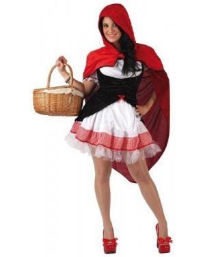 Costume Da Cappuccetto Rosso Sexy T-1