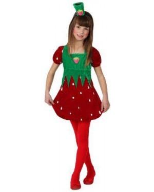Costume Fragola Bambina T. 2