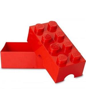 cartorama 40231730 box pranzo lego contenitore rosso 10x20x7,5
