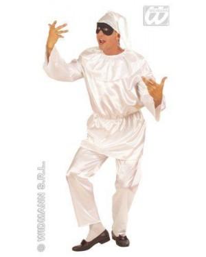 Costume Pulcinella In Raso M