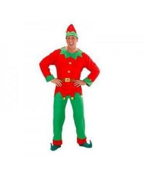 Costume Elfo L Uomo Aiutante Di Babbo Natale