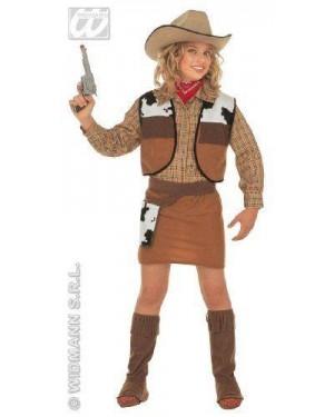 Costume Cowboy Bambina 8/10