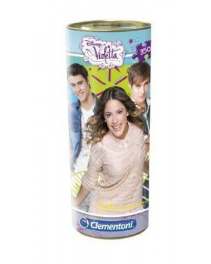 clementoni 21703 puzzle in tubo 350 pz violetta