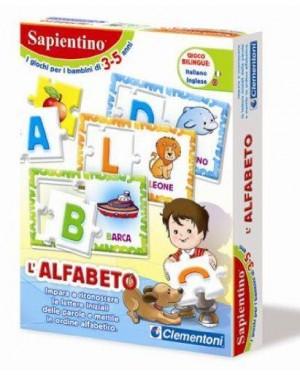 CLEMENTONI CLEM12893 sapientino alfabeto dei giocattoli