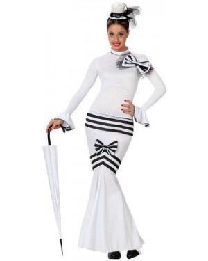 ATOSA 15603 costume dama inglessa, adulto t2 m\l