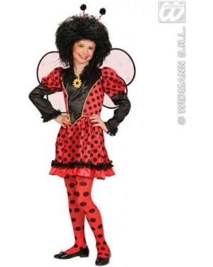 Costume Coccinella 158Cm Vestito,Ali,Antenne)