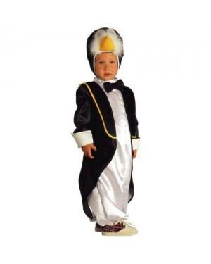CLOWN 13204 costume pinguino 4 anni