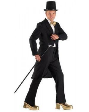 CLOWN 71126 costume frac nero m