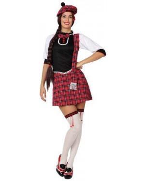 ATOSA 15266.0 costume scozzese donna, adulto t. 2