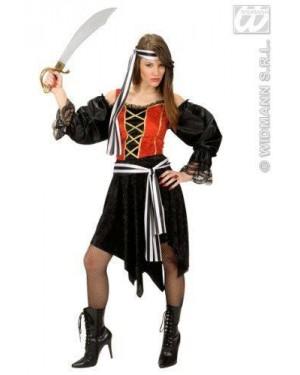 Costume Bucaniera Piratessa S In Velluto