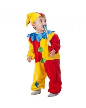 Costume Clown 1/2 Anni C/Cappello
