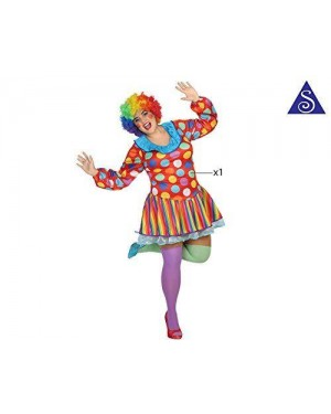 Costume Clown Donna Xxl