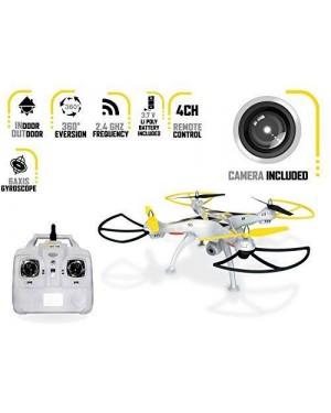 mondo motors 63333 elicottero r/c drone x48.0 con camera 48x48
