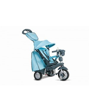 GIOCHERIA OFR8200400 triciclo smart trike explorer 5 in 1 azzurro acqua