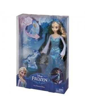 MATTEL CGH15 bambola frozen elsa potere di ghiaccio 20cm