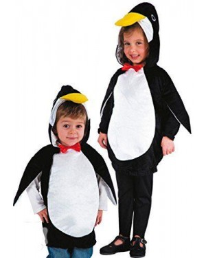 Costume Pinguino T.U. Lungh.Cm.50 In Bus