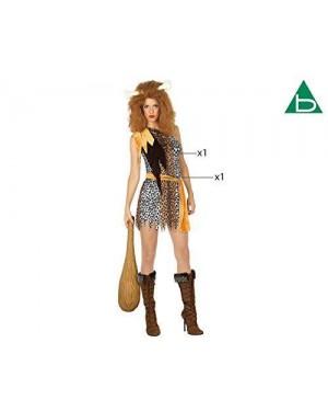 Costume Uomo/Donna Delle Caverne Xs-S