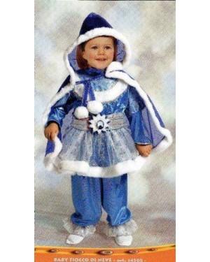 CIAO 14505 costume baby fiocco di neve 6/12