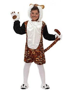 Costume Tigre Bambino T-2