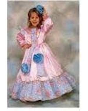 Costume Camelia Principessa 4-6 Anni