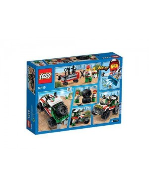 lego 60115 lego city great vehicles fuoristrada 4 x 4