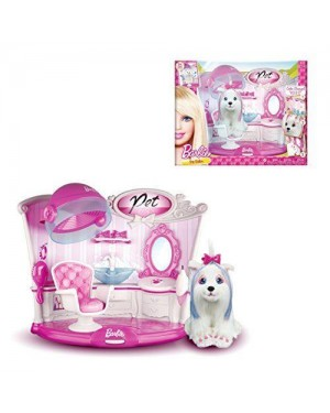 GRANDI GIOCHI 00406 barbie salone di bellezza animali pet hair saloon