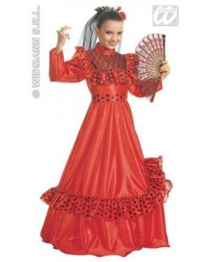 Costume Senorita Spagnola 8/10 Cm 140