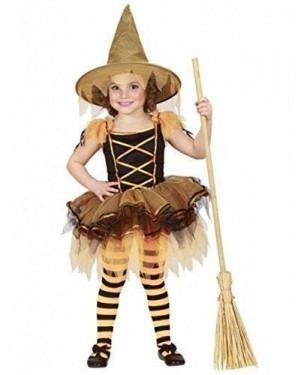 Costume Streghetta Ballerina Con Tutu E Cappello 3