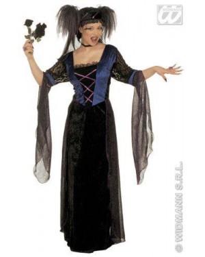 Costume Principessa Gotica Xl Velluto