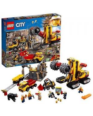 LEGO 60188 lego city miniera macchine da miniera