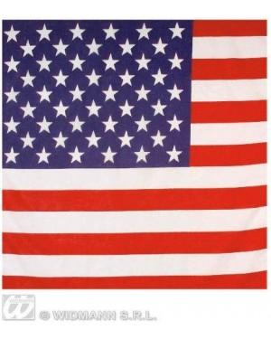 BANDANE BANDIERA AMERICA U.S.A. 55X55 CM