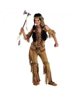 Costume Ragazza Indiana 8 Anni