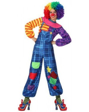 ATOSA 15665 costume clown donna, adulto t. 2