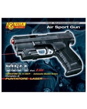 GIOCHERIA V503 pistola laser 503 l mm 6 12 colpi
