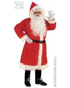 Costume Cappotto Babbo Natale L Super Lusso