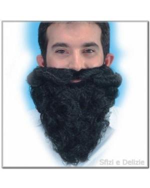 carnival toys 05038 barba con bafffi cm 25 nera