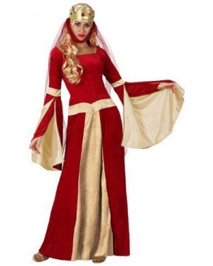 Costume Dama Medievale T-1 Xs