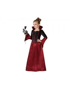 Costume Vampiressa, Bambina T1 3-4 Anni