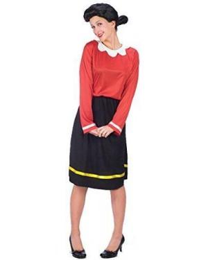 RUBIES 889041 costume olivia olive oil s