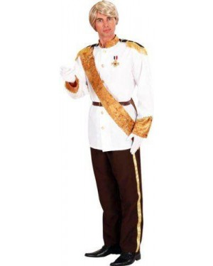 Costume Principe Azzurro M Giacca, Pantal,Cint,Fas