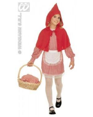 Costume Cappuccetto Rosso 8/10 Cm 140