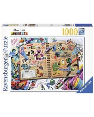 RAVENSBURGER 19816 puzzle 1000 pixar scrapbook