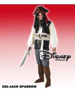 Costume Jack Sparrow M Disney