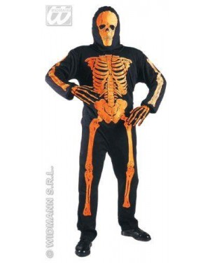WIDMANN 33448 costume scheletro neon 3d 11/13 cm 158