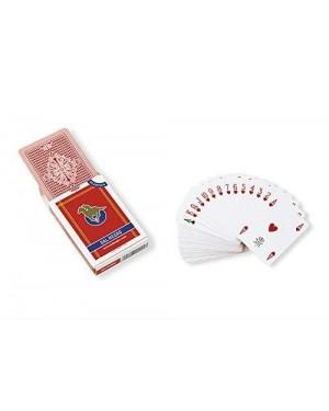 DAL NEGRO 24130 carte poker s.siro a1 rosso plastica