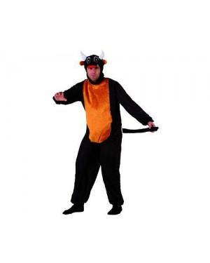ATOSA 69631 costume toro nero t-2