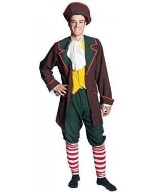 Costume Meneghino Xl Vestito+Access
