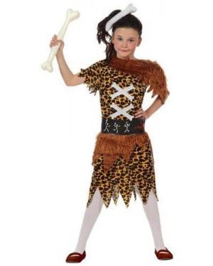 Costume Bambina Cavernicola, T- 3